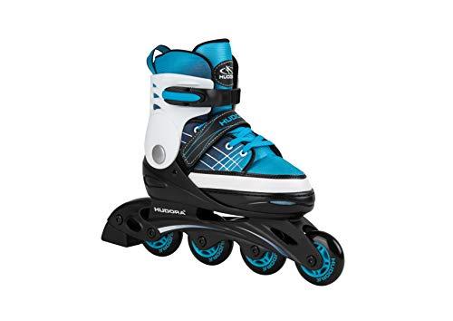Hudora Unisex– Erwachsene Kinder Inline Skates Basic, blue, Gr. 30-33, One Size