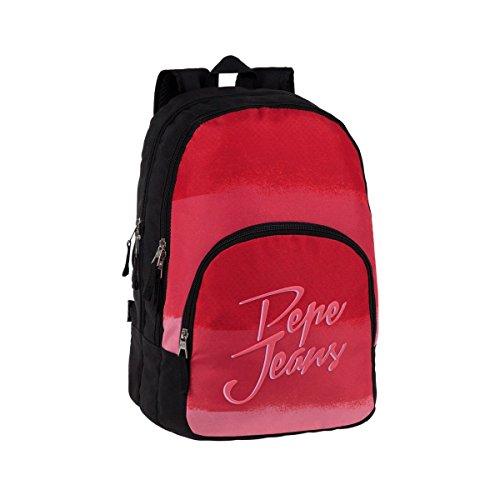 Pepe Jeans 63824A1 Linden Mochila Escolar, 30.98 Litros, Color Rosa