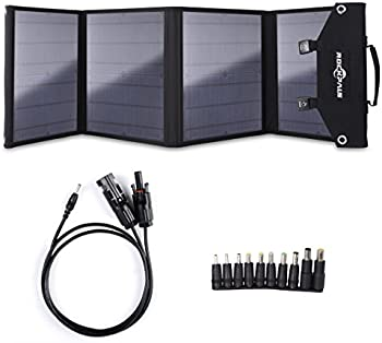 Rockpals 60W Foldable Solar Panel Charger with USB Devices