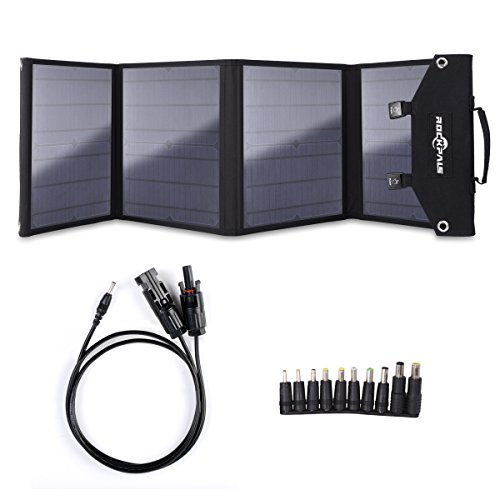 ROCKPALS SP002 Foldable 60W Solar Panel Charger for 96.51