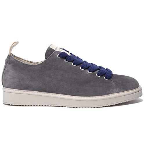 Panchic - Zapatillas para hombre P01 Original de ante gris - P01M14001S4 A00591-BLUE - Talla Gris Size: 41 EU