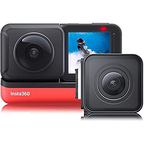 Insta360 One R Twin Edition - Actioncam - Rood/Zwart
