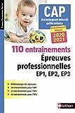 110 entraînements - Epreuves prof. EP1 EP2 EP3 - CAP accompagnant éducatif petite enfance (EFS) - 2020