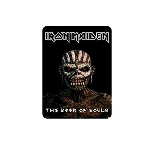 LINA Iron Maiden Retro Straßenschild Haushalt Metall Blechschild Bar Cafe Auto Motorrad Garage Dekoration Zubehör 30,5 x 20,3 cm