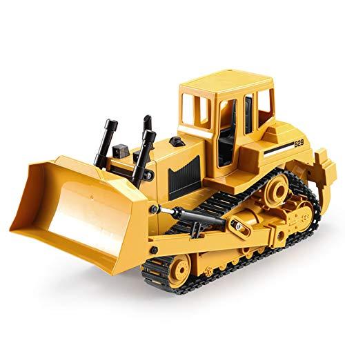DishyKooker RC Truck E529-002 1:20 Fernbedienung Crawler Bulldozer Alloy Schaufellader Traktor Full Metal Bulldozer Spielzeug Elektrische RC Fernbedienung BAU Traktor für Kinder
