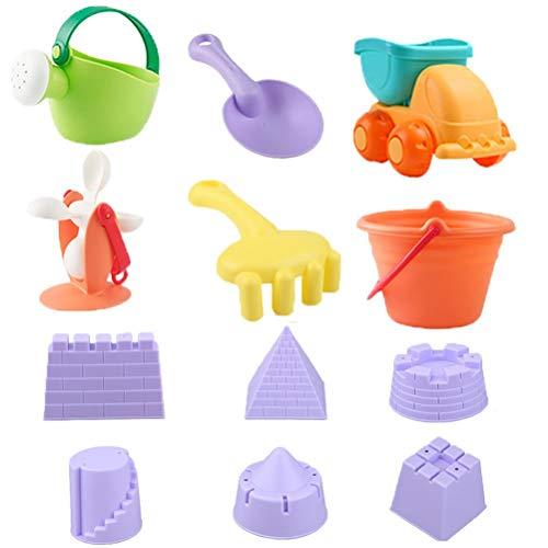 Akemaio Juego de juguetes de playa de verano, divertido, exterior de plástico, para niños