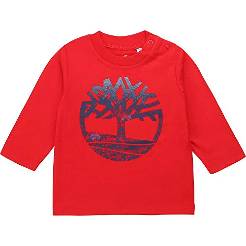 Timberland T-Shirt à Manches Longues Bebe Couche Tomate 18MOIS