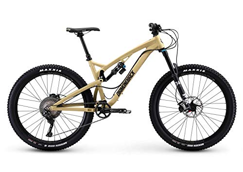 Diamondback Bicycles Release 3 Full Suspension Mountain Bike, 19'/Large, Tan