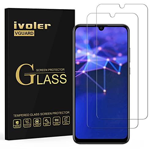 VGUARD [2 Unidades] Protector de Pantalla para Honor 20 Lite / Honor 10 Lite / Honor20e / Huawei P Smart Plus 2019 / Huawei P Smart 2019 / Huawei P Smart 2020, Cristal Vidrio Templado Premium