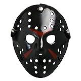 CASA CLAUSI Jason Mask Halloween Costume Prop Horror Hockey Cosplay Party Adult Black