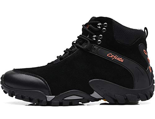 SINOES Crown Zapatos de Senderismo para Mujer Zapatillas de Escalada Calzado de Ante para Alpinismo, Zapatos de Excursionismo Zapatos Seguros para Actividades al Aire Libre, Excursionismo, Gimnasia