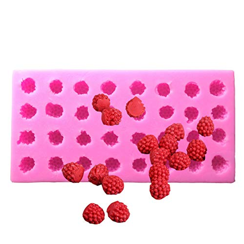 ZPZZPY 3D Mulberry Blueberry Stereo Silikonform Schokolade Feuchtigkeitsspendende Zuckerkuchen dekorative schimmelige Süßigkeiten Werkzeuge