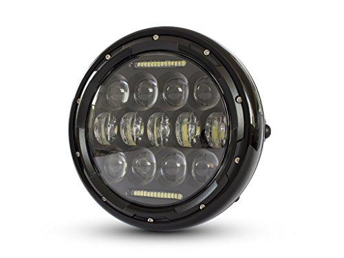 Motorrad Projektor LED Scheinwerfer 7.5 Zoll für Cafe Racer Retro Angepasstes Projekt