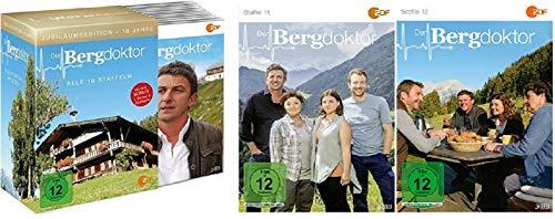 Der Bergdoktor Staffel 1-12 (1-10 Box und Staffel 11+12) Folgen 1-111 [36 DVDs]