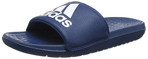 adidas Voloomix, Scarpe da Spiaggia e Piscina Uomo, Blu (Tech Steel/Ftwr White/Tech Steel), 40.5 EU