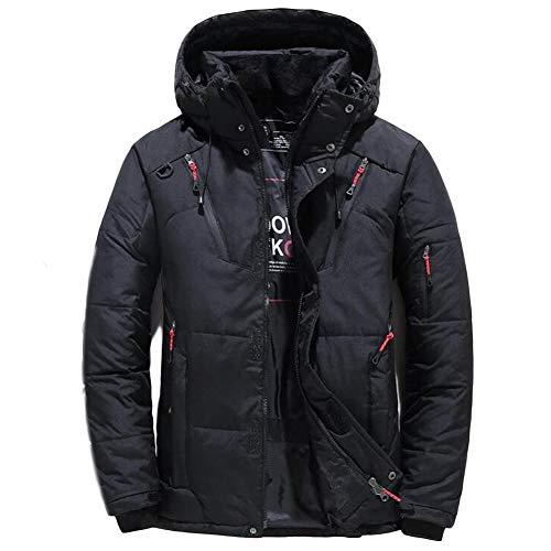 NXLWXN heren gewatteerde winterjas – gewatteerd warm anorak – outdoor jas voor de winter/herfst in bundel