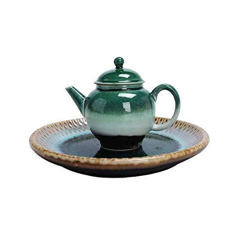 Brightz Tetera, 150ml Tetera de cerámica Pot Set Juego de Regalo Verde Songbai Horno Cambio de Kung Fu Juego de té de la Tetera Personal Tazas de té,