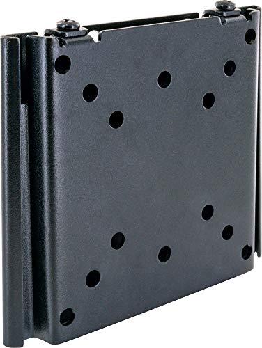 SCHWAIGER LWH1323 511 TV-Wandhalterung für Flachbildschirme mit 33-69 cm (13-27 Zoll), Halterung für LCD LED TFT Plasma, max. Belastung 30 kg, schwarz