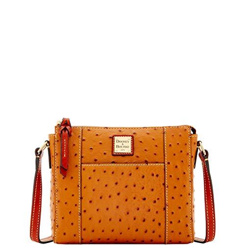 Dooney & Bourke Ostrich Lexington Crossbody Shoulder Bag
