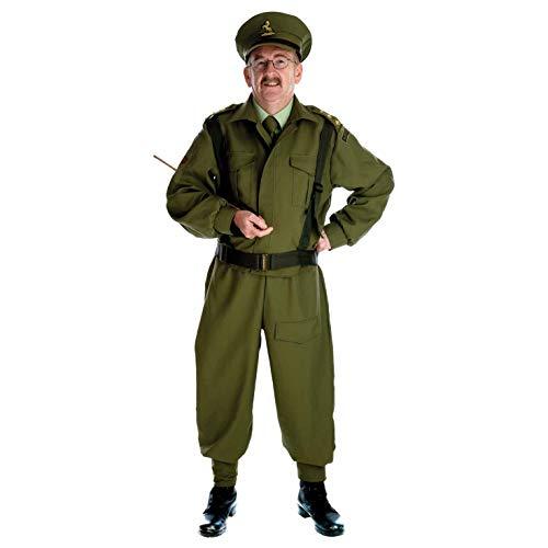 Fun Shack Verde Soldado de Guardia Doméstica Disfraz para Hombres - M