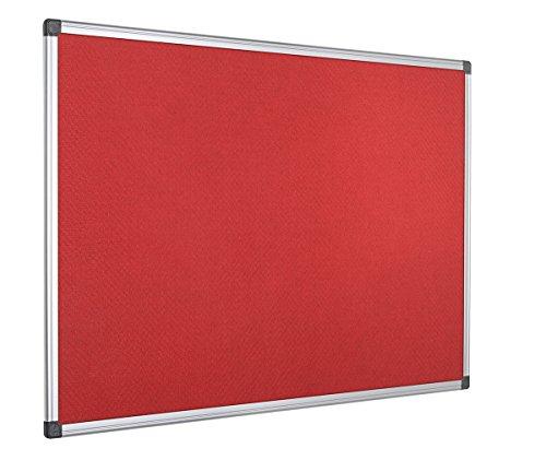 Bi-Office Maya - Tablero anúncios marco aluminio
