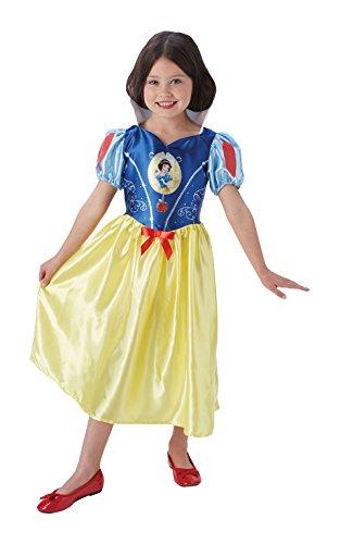 Rubie's Officieel Disney prinses sneeuwwitje kinderkostuum pak Toddler 2-3 years rood