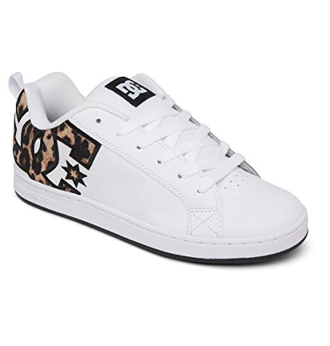 DC Shoes Damskie buty Court Graffik Skate, leopard print - 43 EU