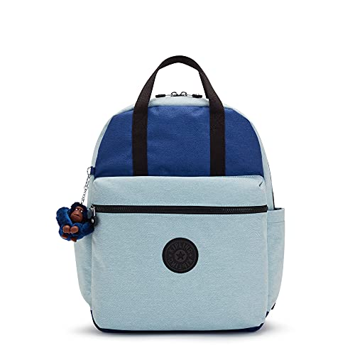 Kipling Wanamie 15' Laptop Backpack Fresh Denim Bl