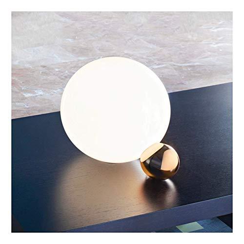 Lámpara de mesa, fuente de luz G9 Lámpara de mesa de vidrio creativo de vidrio Arte de noche Dormitorio Estudio Diseñador Lámpara de lectura Lámpara de lectura