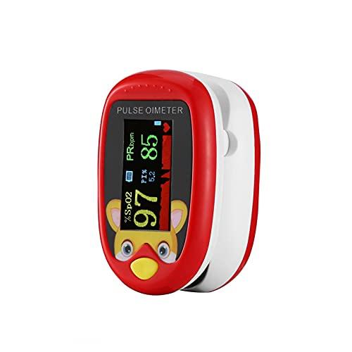 Monitor Di Saturazione Di Ossigeno Nel Sangue SpO2 Pediatrico, Pulsossimetro Punta Delle Dita, Monitor Della Frequenza Cardiaca E Livelli Di SpO2 Pulsossimetro Portatile Per Display OLED Portatile