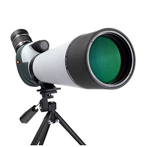Chuihui Teleskop, 80MM Astronomische Refraktion HD Beschichtetes optisches Objektiv, wasserdicht Zweigang-Fokussierung beweglichen Stativ for Anfänger Outdoor-Spielraum-Speicher Geeignet für Raum zu b