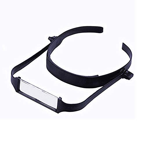 Hoofdband Vergrootglas 1.6x/2x/ 2.5x/ 3.5x Verstelbare ABS Plastic Lens Verstelbare Leesbril Hoofd Het dragen van middelbare leeftijd Hoofdband loupe