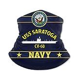 Photo de Yuanmeiju écharpe coupe-vent USS Saratoga Cv 60 Outdoor Warmer Scarf Dust Windproof Sports Scarf