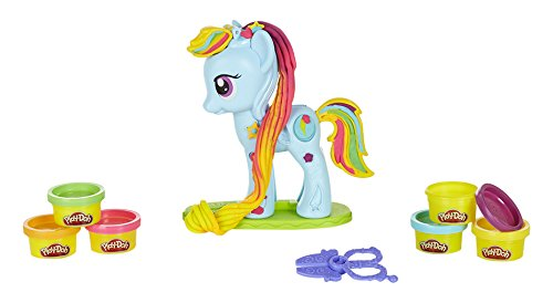 Play-Doh - Set Juego Rainbow Dash (Hasbro B0011EU4)