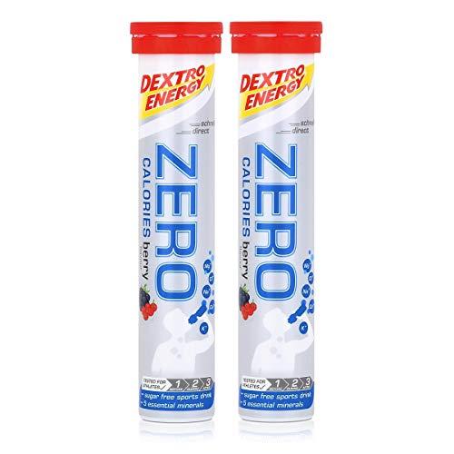 Dextro Energy Zero Calories Brausetabletten Berry flavour 80g (2er Pack)
