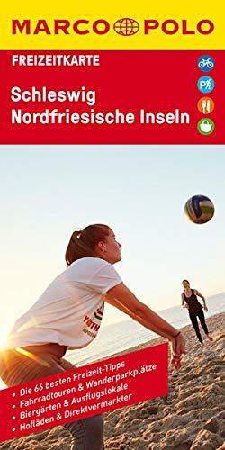 MARCO POLO Freizeitkarte Schleswig, Nordfriesische Inseln 1:110 000
