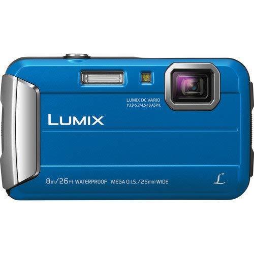 Panasonic Lumix DMC-TS30 Digital Camera (Base, Blue)