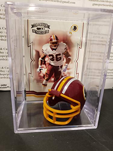 Sean Taylor Washington Redskins Mini Helmet Card Display Collectible Auto Shadowbox Autograph (Auto Autograph Card)