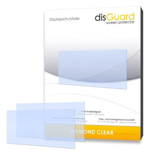 disGuard Made in Germany 2 Display-Schutzfolien für Garmin nüvi 2495 LMT/2495LMT zugeschnitten- Made in Germany