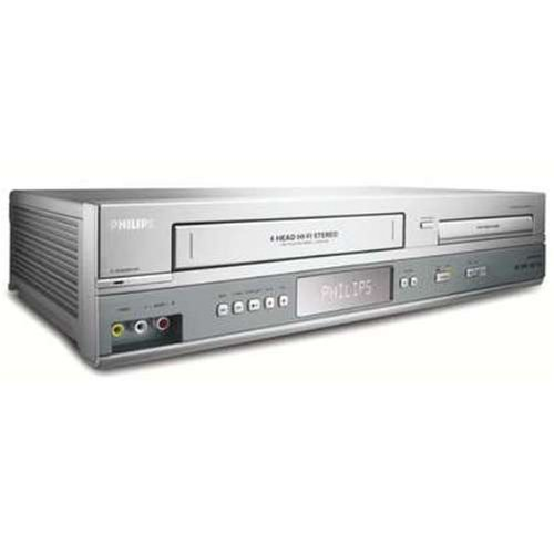 New Refurbished Philips DVP3150V Philips Progressive Scan DVD Player/VCR Combo