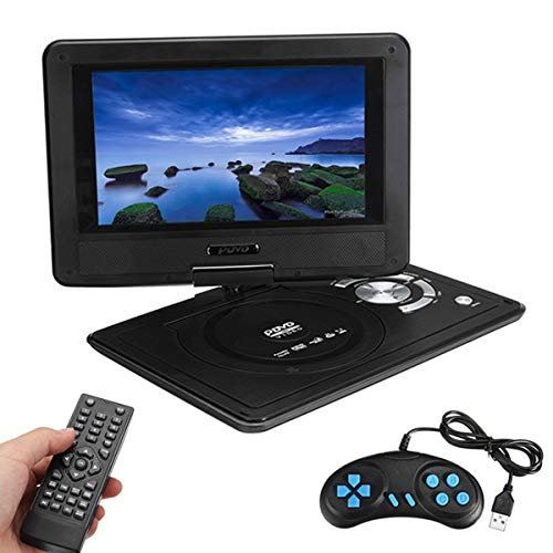 Best Deals! Portable Mobile DVD HD Player, 9.8 Inches with Mini TV Compatible with AVI EVD DVD, SVCD...
