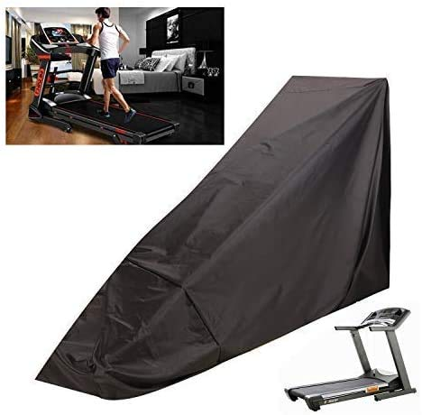TUYU Exercise Machine Cover, Portable Dust-Proof Cover of Tredmills for Home, Waterproof Oxford Cloth Treadmill Cover for Running Machine Indoor or Outdoor
