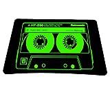 PEDEA Tapis de Souris - Fond caoutchouté pour adhérence Parfaite, Audiocassette