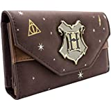Cartera de Harry Potter Insignia de Cresta Marrón