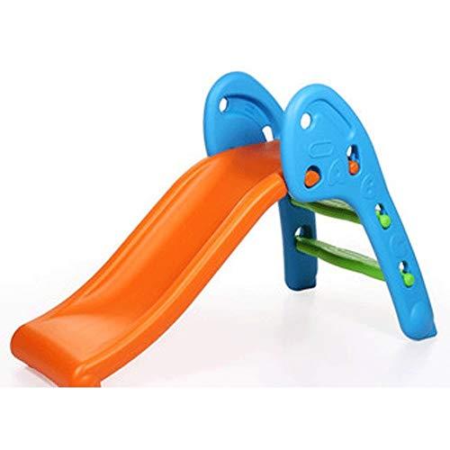 XWX Pequeña Cubierta De Diapositivas Juguetes De Plástico Individual Niños Montecillos Arriba Y Abajo Plegable Familia Diapositivas (Color : A)