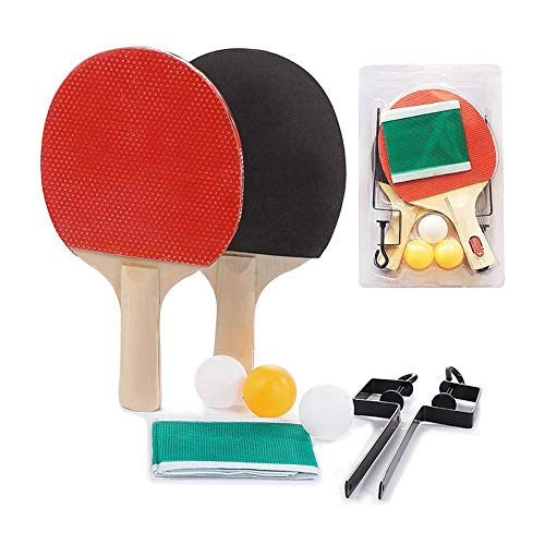 Review Of ZKWSJNGD Portable Table Tennis Table Tennis Suits Telescopic Column Grid of Table Tennis Racket Table Tennis Racket Table Tennis Training