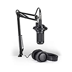 Large diaphragm for smooth, natural sound and low noise High SPL handling and wide dynamic range provide unmatched versatility Custom shock mount provides superior isolation The circumaural design of the ATH-M20x contours around the ears for excellen...