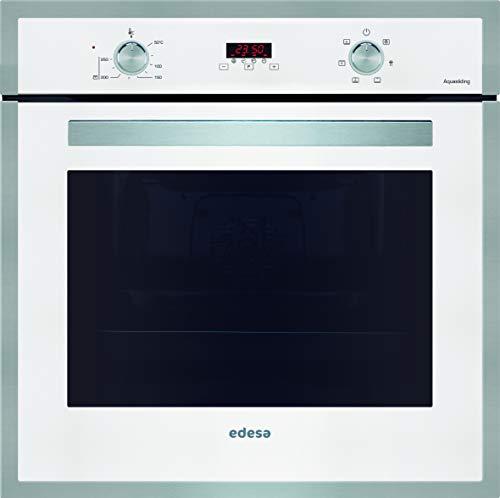 EDESA - Multifunción Plus , Modelo: EOE-7040 WH , Horno con Capacidad de 70 L , 6 programas de cocinado , Eficiencia energética: A , Cristal: Blanco, 2200 W, 70 litros, Acero Inoxidable