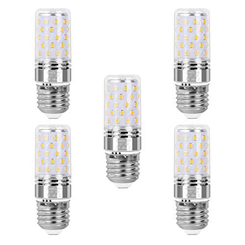 SanGlory E27 LED Glühbirnen, 5er Pack 9W E27 LED Leuchtmittel Warmweiß 3000K 950LM Ersatz 80W Glühlampe, E27 LED Mais Lampen Birnen Maiskolben Nicht Dimmbar (5er 9W E27 Warmweiß)