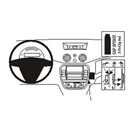 Brodit 854329 Proclip Für Citroen C5 Iii 08 17 Schwarz Elektronik